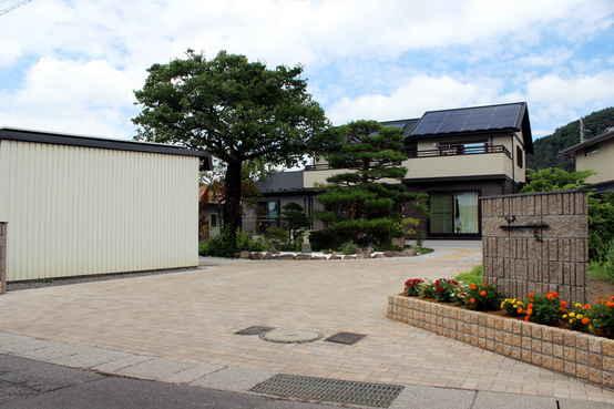 松本市 お庭のリフォーム・メンテナンスフリー化