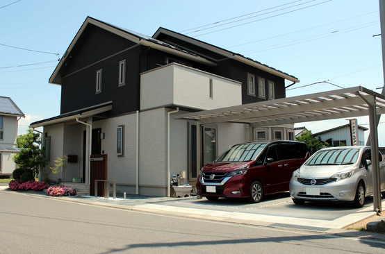 松本市 エントランス・カースペースのフルリフォーム